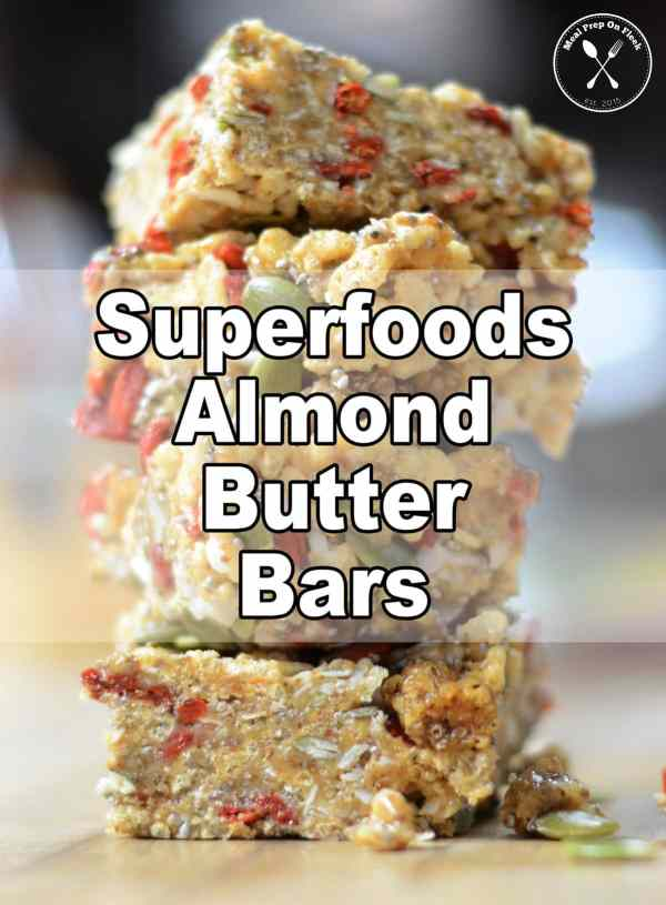 Superfoods Almond Butter Bars