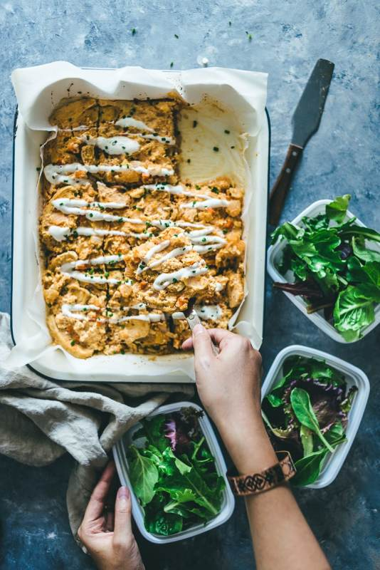 Whole30 Baked Buffalo Chicken Casserole
