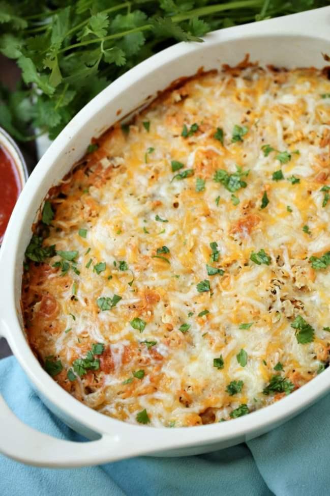 taco casserole recipe