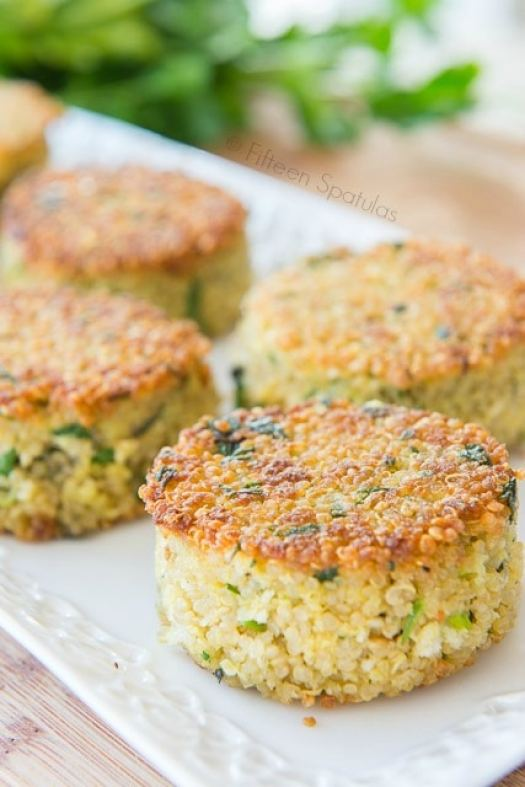 These Couscous cakes are made with an Alternative To White Rice