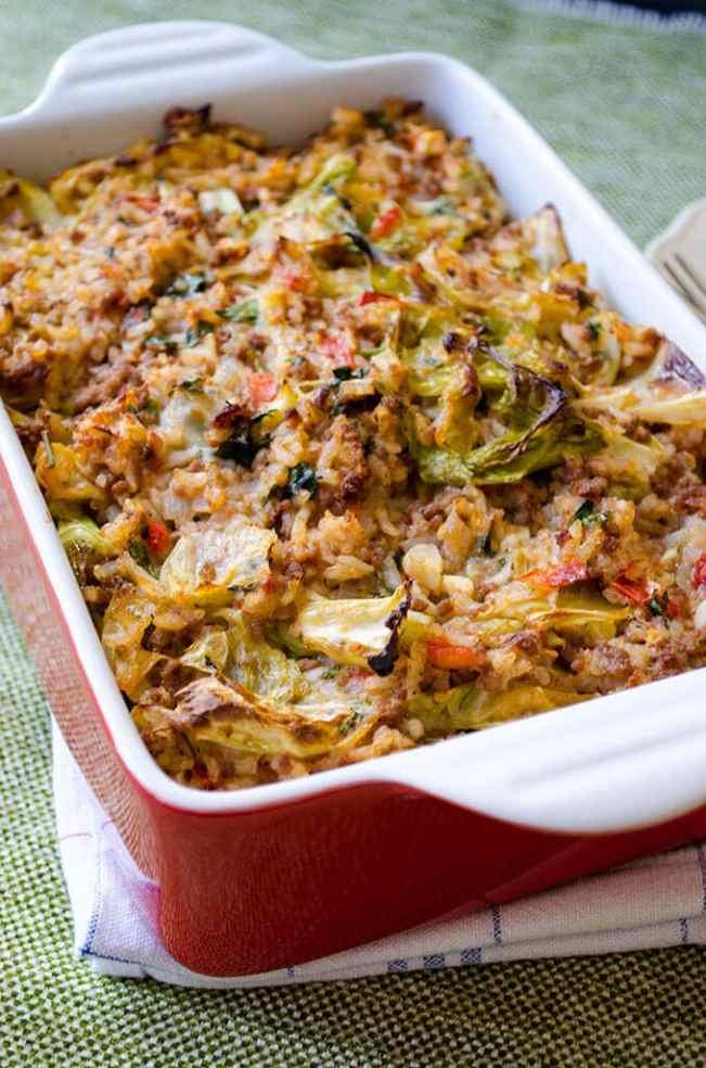 One Pan Unstuffed Cabbage Recipe