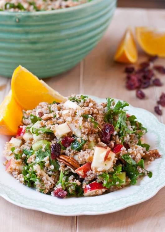 Swap white rice in this Bulgar salad