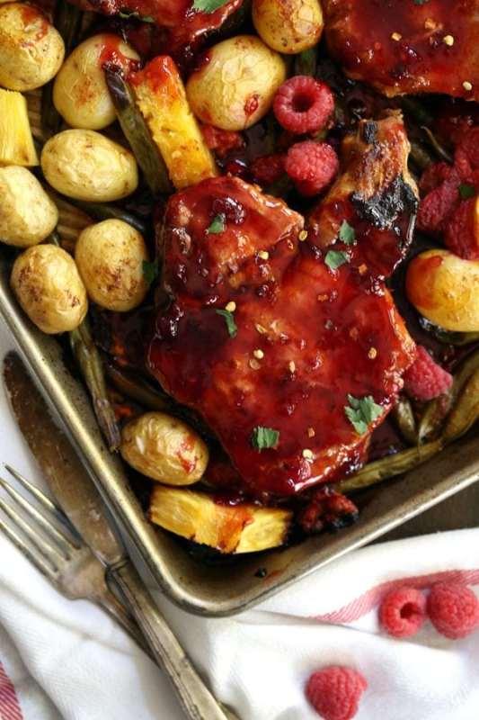 Pork Chop Sheet Pan Recipes