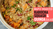 Maple Roasted Kabocha Squash & Quinoa Salad