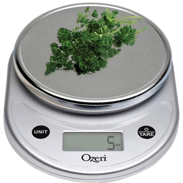 Ozeri Digital Kitchen Scale Review: Best Digital Food Scales Of 2017