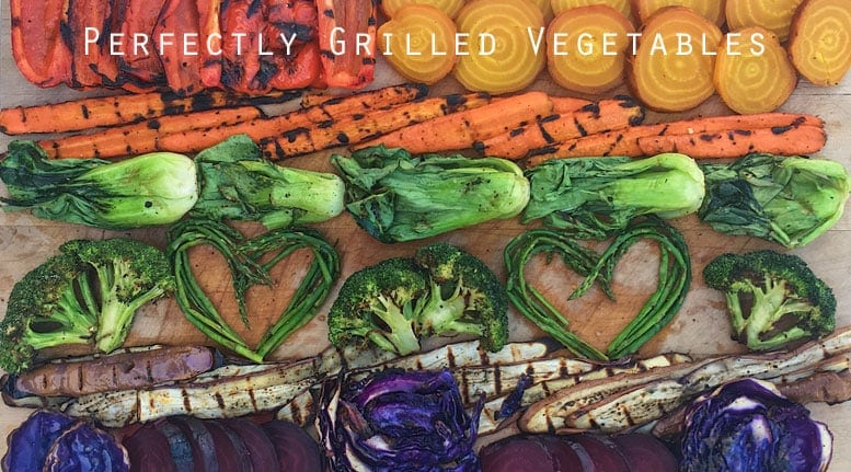 Perfectly Grilled Vegetables