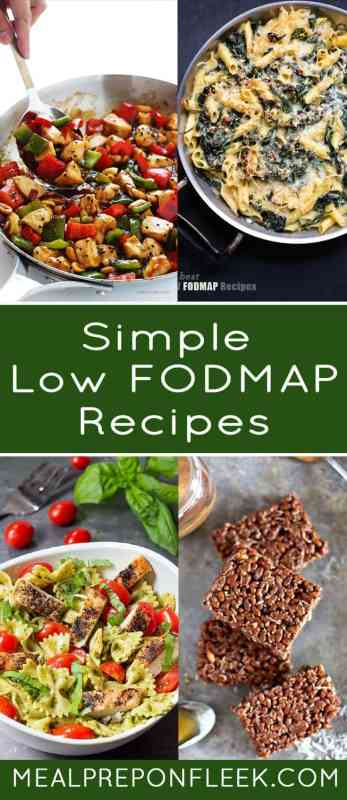 easy fodmap recipes