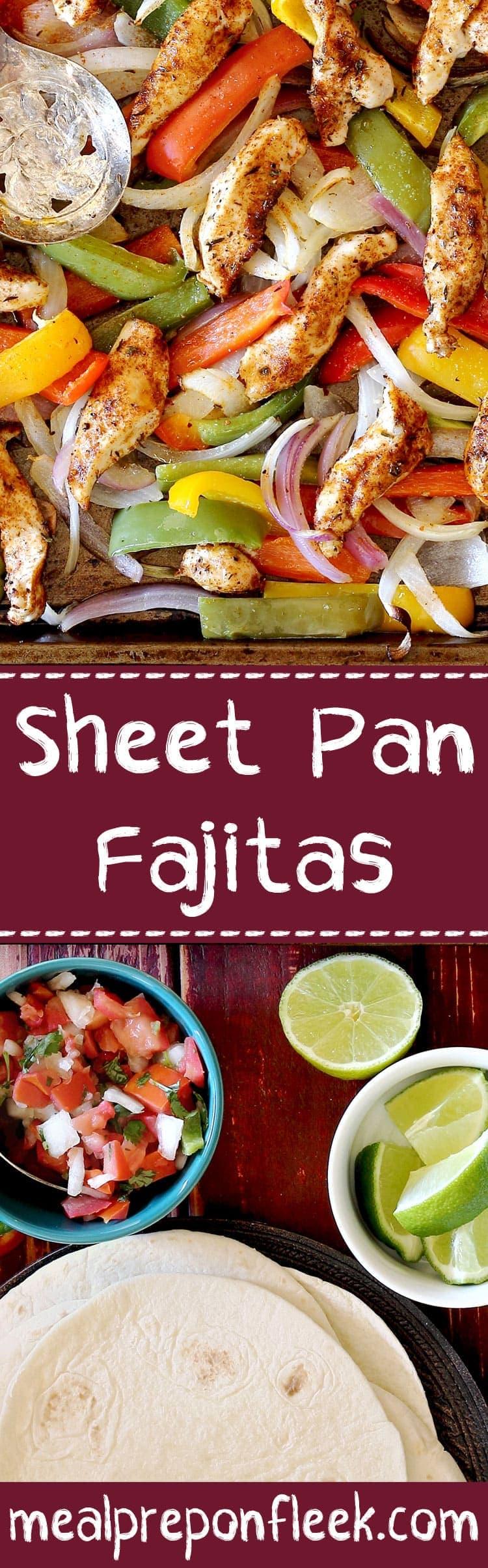 One Pan Steak Fajitas Meal Prep