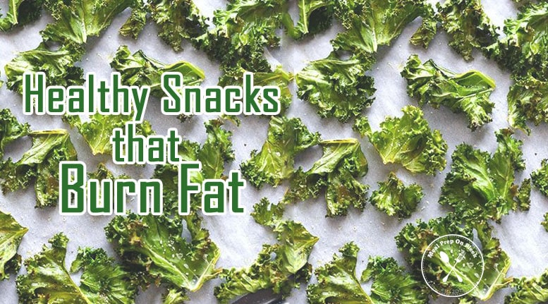 fat burning snacks - kale chips