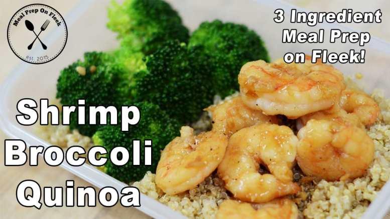 Garlic Shrimp and Broccoli recipe