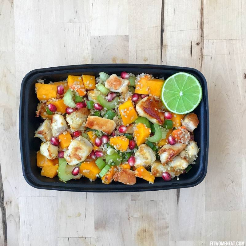 Chicken Quinoa Salad Meal Prep On Fleek