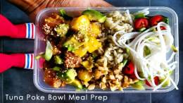 Tuna Poke Bowl Meal Prep