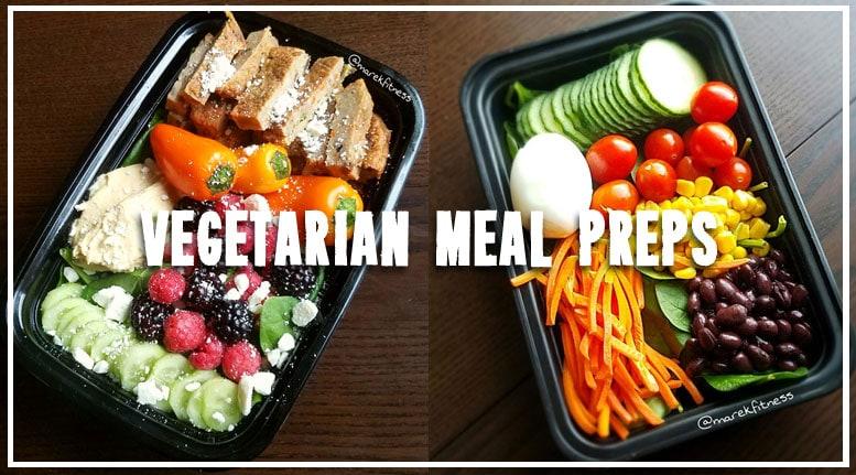 vegetarian meal prep combos