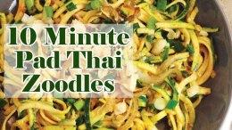 Keto Pad Thai Zoodles