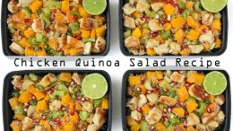 Chicken Quinoa Salad Meal Prep Recipe