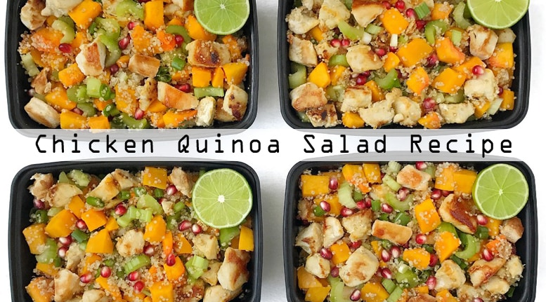 Chicken Quinoa Salad Meal Prep Recipe