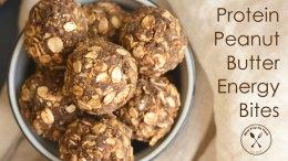 Protein Peanut Butter Energy Bites