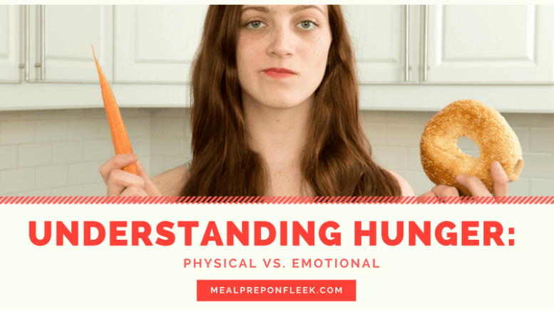 Types of Hunger: Learning to Understand Them