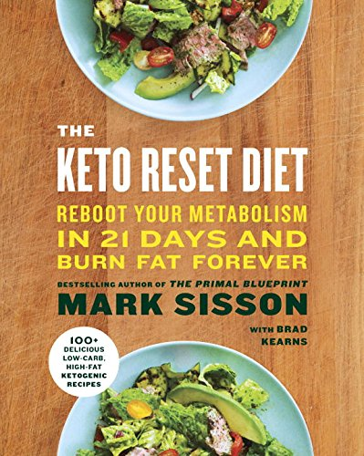 Keto Reset Diet book by Mark Sisson
