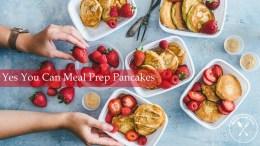 pancake meal prep breakfast idea