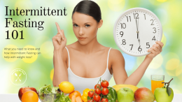 Intermittent fasting for weight loss