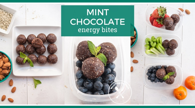 Mint Chocolate Energy Bites Meal Prep On Fleek