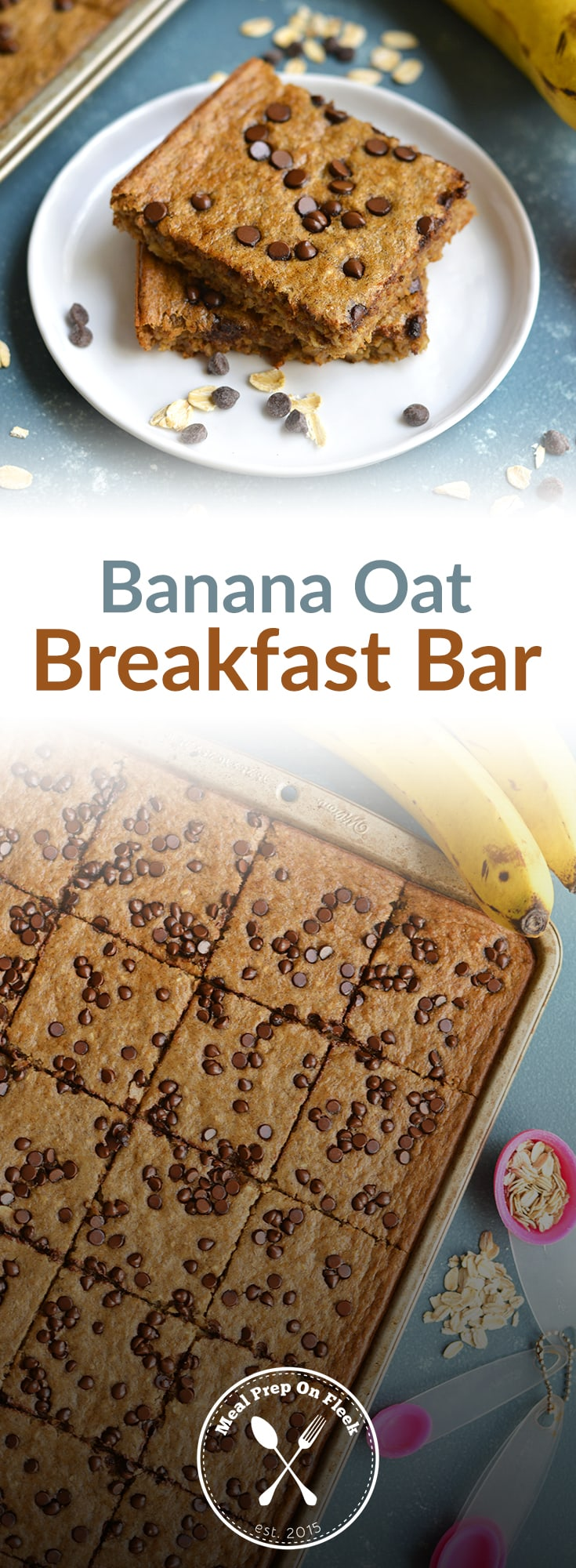 Banana Oat Breakfast Bar