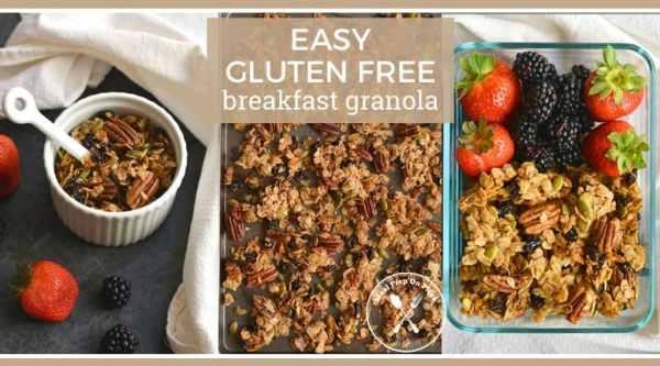 DIY Gluten Free Snack : Easy Gluten Free Fall Breakfast Granola
