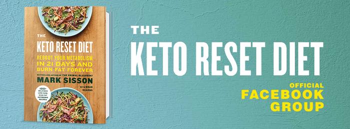 Mark Sisson Keto Reset Book