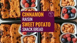 Cinnamon Raisin Snack Bread Blog