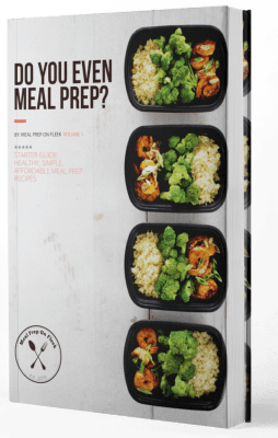 meal prep ideas ebook