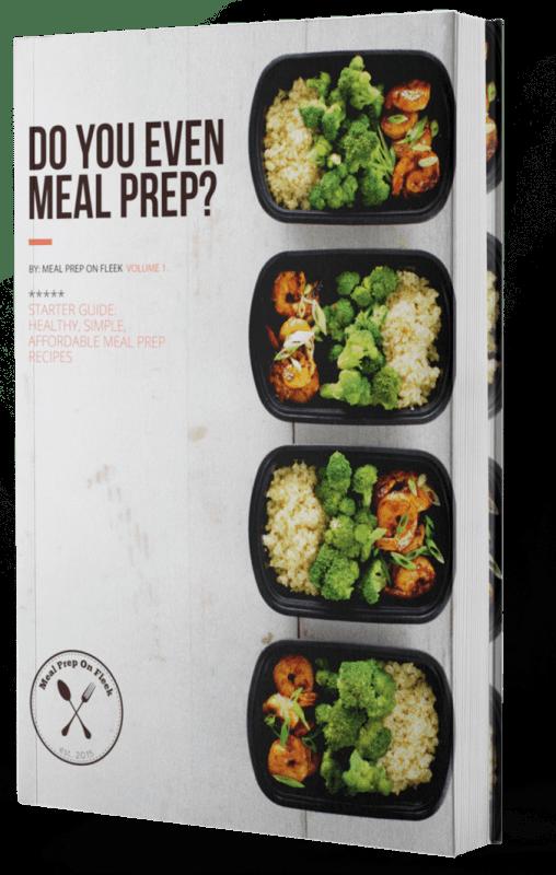 meal prep ideas ebook