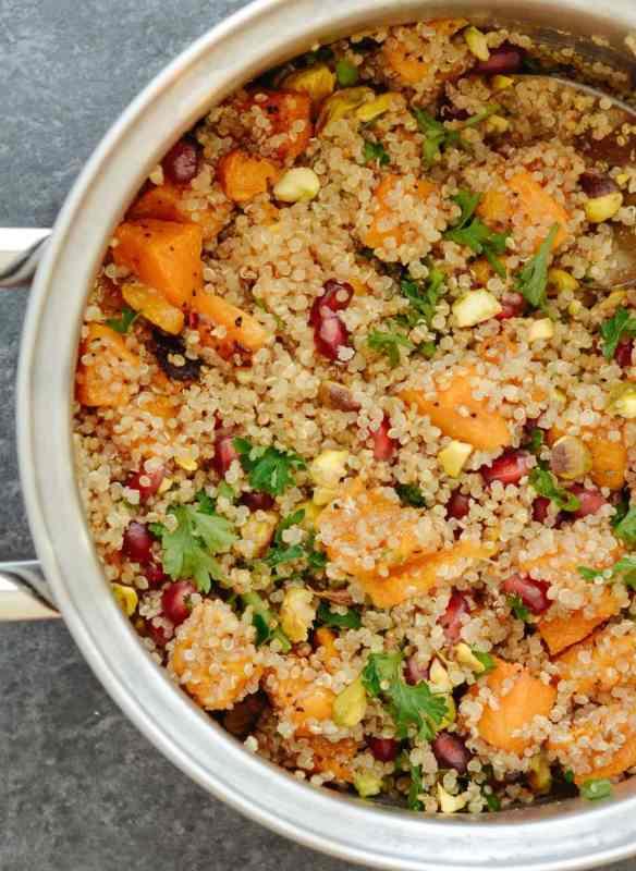 Maple Roasted Kabocha Squash & Quinoa Salad