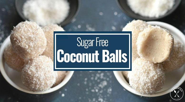 Sugar Free Coconut Balls - Meal Prep Recipe