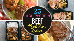 25 High Protein Beef Meal Prep Recipes
