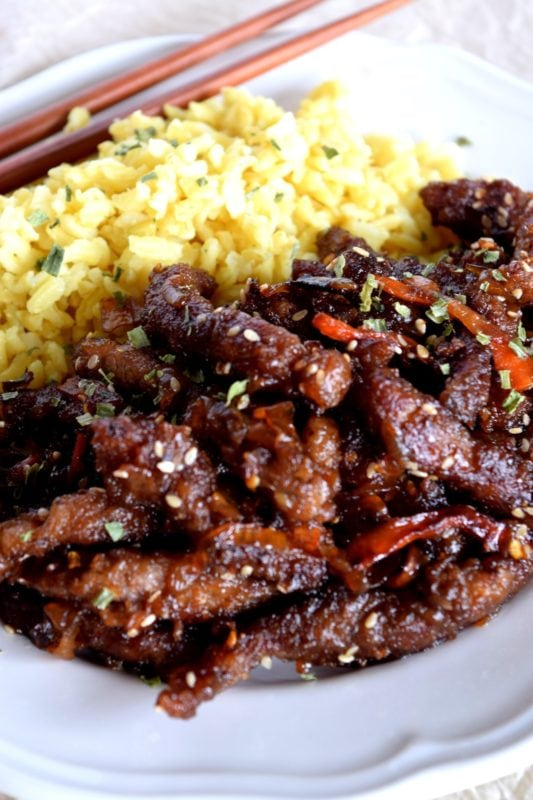 Ginger Beef Recipe