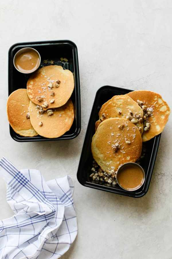 Nutty Keto Pancake Meal Prep