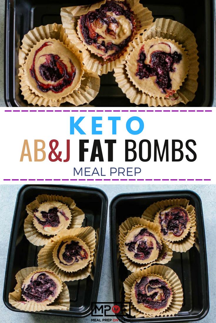 AB&J Fat Bombs Meal Prep blog