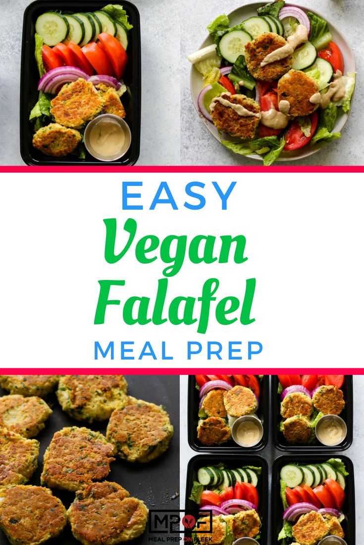 Easy Vegan Falafel Meal Prepblog