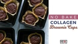 No Bake Collagen Brownie Cupsblog