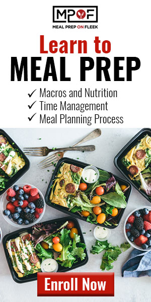 Learn How To Meal Prep - Meal Prep Master Course