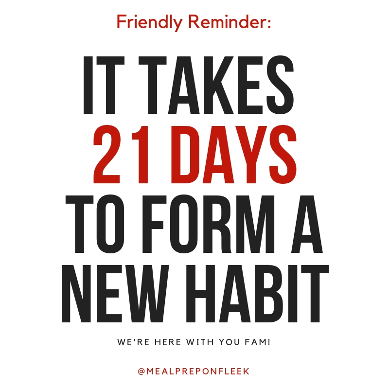 Motivational Quote: Healthy Habits