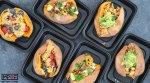 Quinoa Stuffed Sweet Potato Meal Prep - 3 Ways blog