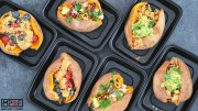 Quinoa Stuffed Sweet Potato Meal Prep - 3 Ways blog