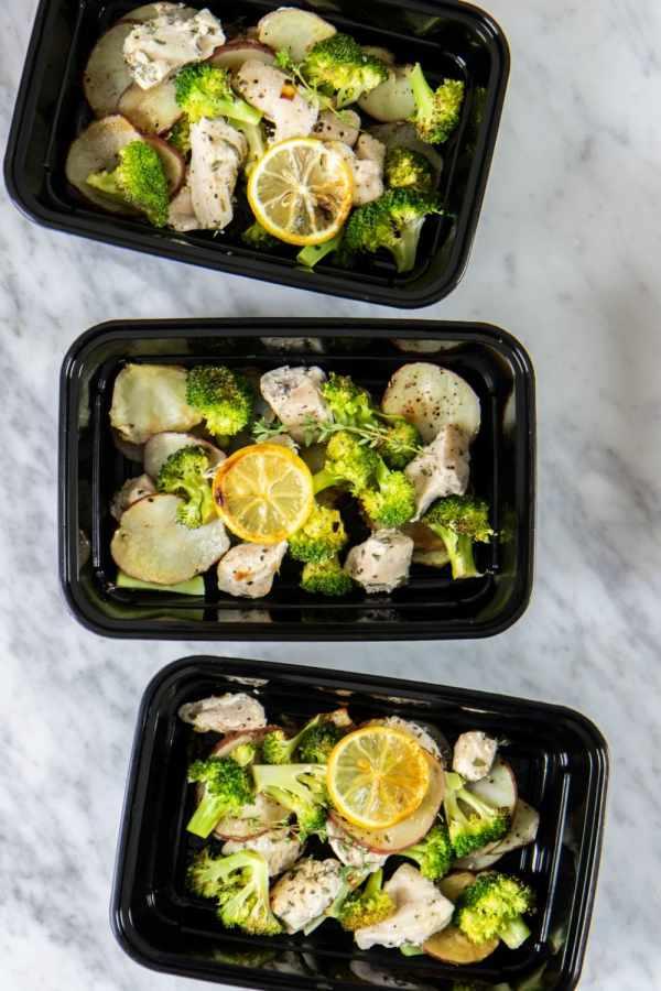 whole30 sheet pan lemon and herb chicken