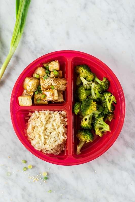 Vegan Sheet Pan Crispy Tofu and Broccoli