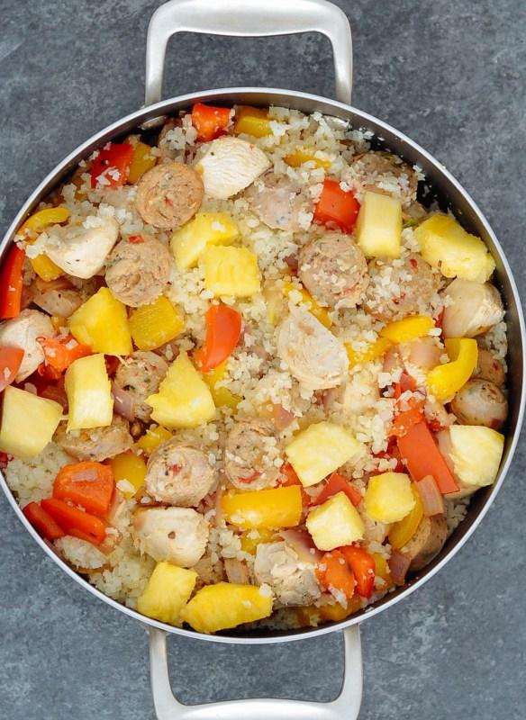 Sweet 'N Spicy Jalapeno Sausage Fried Rice