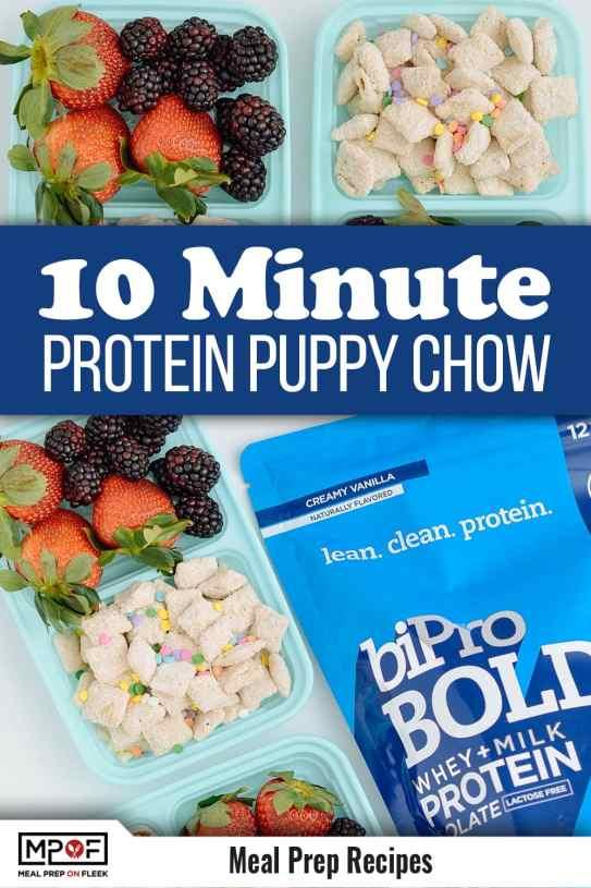 Funfetti Protein Puppy Chow