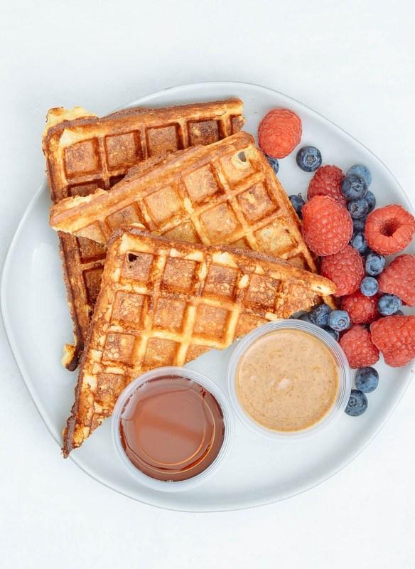 Protein Freezer Waffles