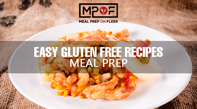gluten free meal prep recipes